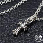 クロムハーツダイヤモンドの魅力チャーム・ゴールド・ネックレス