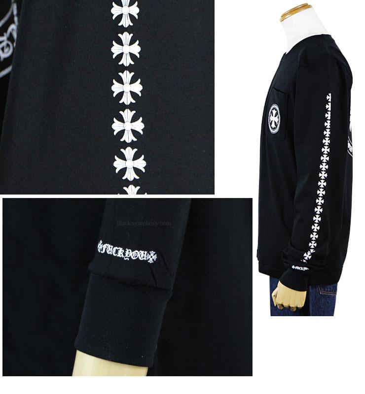 ChromeHearts クロムハーツ ロングTシャツ(ロンT)CHプラス ブラック