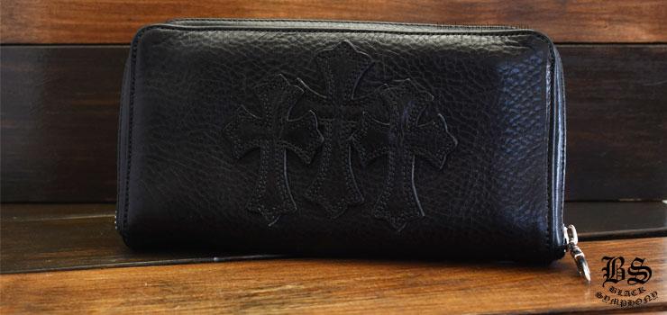 クロムハーツ chromehearts REC Fジップ 3セメタリークロスパッチ ウォレット 税込 ¥290,950