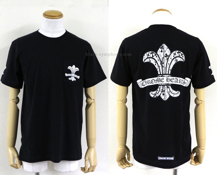 クロムハーツ Tシャツ CHフレア ブラック