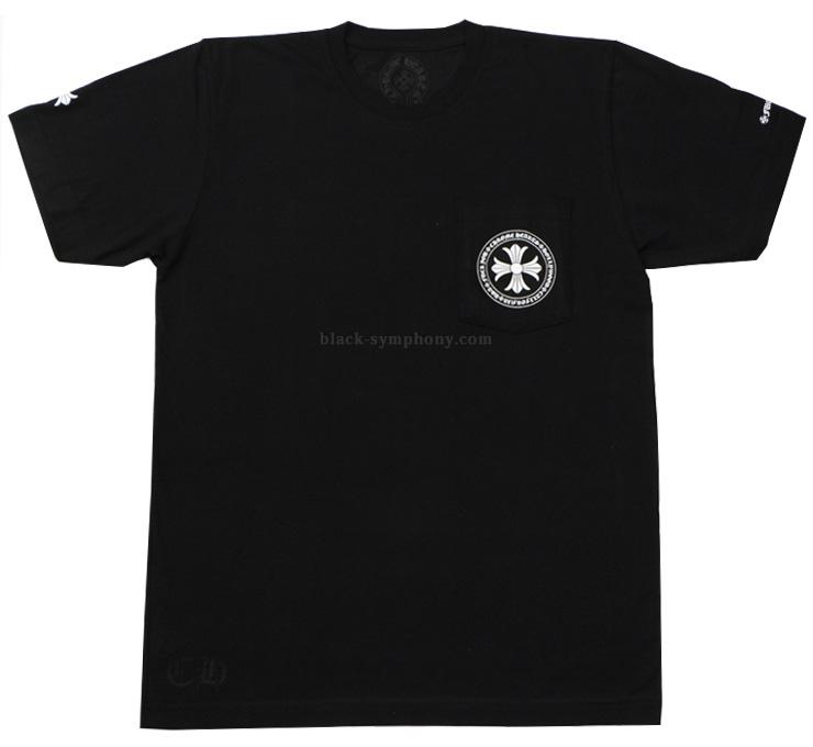 クロムハーツ Tシャツ CHプラス ブラック 正面