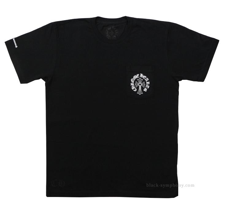 クロムハーツ Tシャツ ヘアリークロス&ホースシュー 正面
