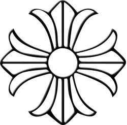chrome hearts クロムハーツ 財布用 ロゴ