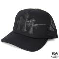 トラッカーキャップ CH ブラック ホワイト(帽子)